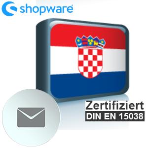 E-Mail Vorlage Kroatisch Shopware 5.x