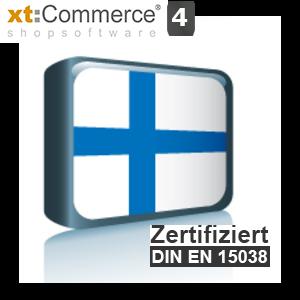 Sprachpaket Finnisch xt:Commerce 4