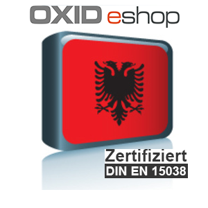 Sprachpaket Albanisch OXID 4.8 (CE) 5.3 (PE, EE)