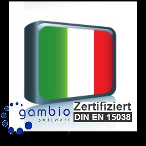 Sprachpaket Italienisch Gambio GX3