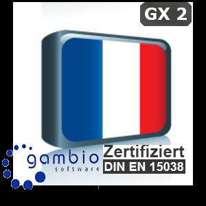 Sprachpaket Französisch Gambio GX2