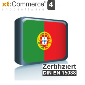 Sprachpaket Portugiesisch xt:Commerce 4