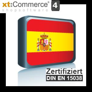 Sprachpaket Spanisch xt:Commerce 4
