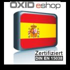 Sprachpaket Spanisch Oxid 6