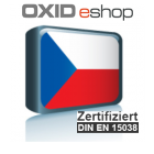 Sprachpaket Tschechisch Oxid 6 (Neueste Version auf Anfrage)