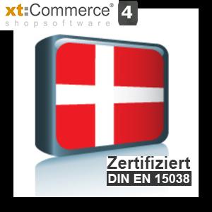 Sprachpaket Dänisch xt:Commerce 4