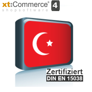 Sprachpaket Türkisch xt:Commerce 4