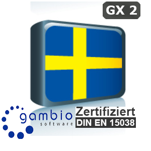 Sprachpaket Schwedisch Gambio GX2