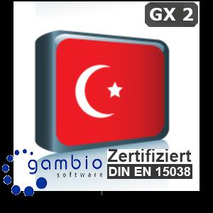 Sprachpaket Türkisch Gambio GX2