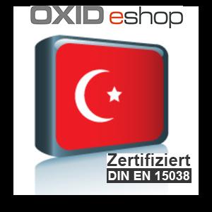 Sprachpaket Türkisch Oxid 6 (Neueste Version auf Anfrage)