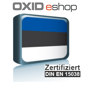 Sprachpaket Estnisch OXID 4.8 (CE) 5.3 (PE, EE)