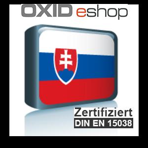 Sprachpaket Slowakisch OXID 4.8 (CE) 5.3 (PE, EE)