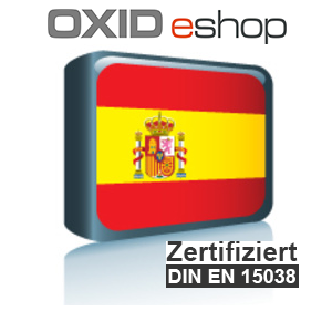 Sprachpaket Spanisch OXID 4.10 (CE) 5.3 (PE, EE)