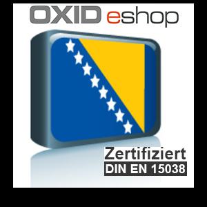 Sprachpaket Bosnisch OXID 4.10 (CE) 5.3 (PE, EE)