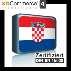Sprachpaket Kroatisch xt:Commerce 4