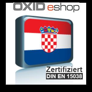 Sprachpaket Kroatisch OXID 4.10 (CE) 5.3 (PE, EE)