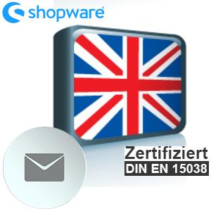 E-Mail Vorlage Englisch (GB) Shopware 5.x