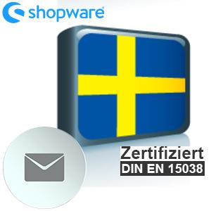 E-Mail Vorlage Schwedisch Shopware 5.x