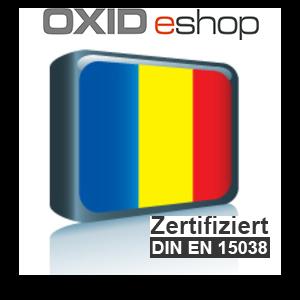 Sprachpaket Rumänisch OXID 4.8 (CE) 5.3 (PE, EE)