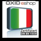 Übersetzungen Italienisch Oxid B2B 4.0 (EE)